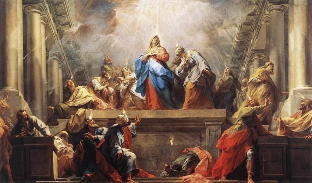 The Pentecost, Jean Restout