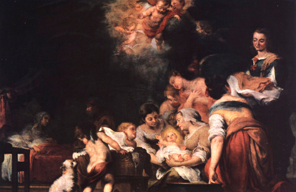 Birth of the Blessed Virgin Mary - Murillo